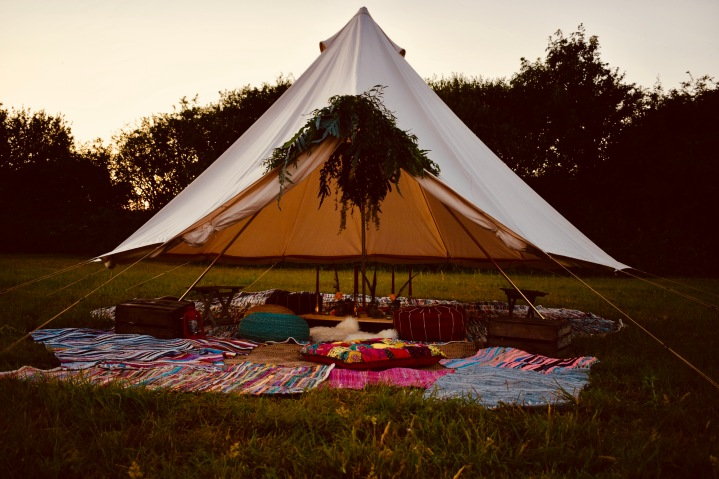 Floating Bell Tent